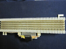66M1-25 TELEPHONE PUNCH DOWN BLOCK  W/25 pair amphenol female connector
