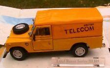 LAND ROVER SERIES III 109 BRITISH TELECOM CARARAMA 1/43 bt