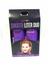 SEXY HAIR SMOOTHING SMOOTH SHAMPOO & CONDITIONER - 33.8oz LITER DUO