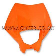 Genuino KTM 200EXC Exc 200 2005-2007 Linterna y lámpara envolvente de máscara de plástico color naranja
