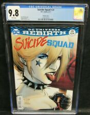 Suicide Squad #20 (2017) Portacio Harley Quinn Variant CGC 9.8 White Pages GG210