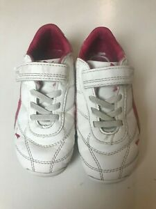 Baby Girl Puma Toddler White/Pink Sneakers Size 9
