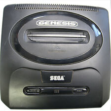 Sega Genesis Black Console MK-1631For Parts With Accessories And Shinobi 3 Game
