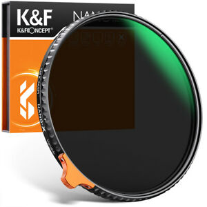 K&F Concept ND2-ND400 with push rod ND filter 49/52/55/58/62/67/72/77/82mm