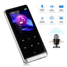 M13 Bluetooth HiFi MP3 MP4 MP5 Player Recorder FM Music Video Playback 8GB