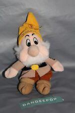 """Walt Disney Snow White And The Seven Dwarfs Sneezy Dwarf Bean Bag Plush 9"""""""