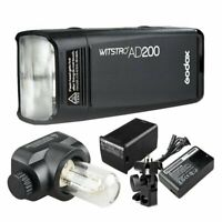 Godox AD200 2.4G TTL Pocket Speedlite Camera Flash For Nikon Canon Sony Fujifilm