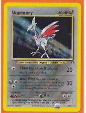 Pokemon 1 x  SKARMORY  # 13/111  Holo Foil card Neo Genesis  Never Played c.2000