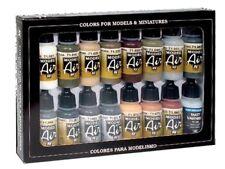Vallejo 071208 Deutsche Farben, WWII, Europaund Afrika, 16 Farben