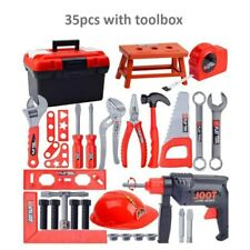 35 pcs Children's Puzzle Play House Toolbox Toy Set Repair Tool DIY Boy Gift