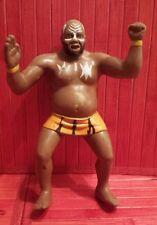 """WWF , Wrestling , Kamala, 8"""" rubber figurine , Titan Sports LJN LTD A 1987"""