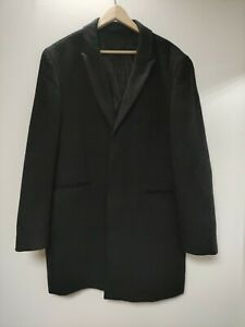 FRENCH CONNECTION coat ,100% wool, size 44, grey, mid length, used in vgc