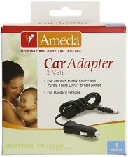 Ameda 17079M Purely Yours + Ultra Breast Pump Series ONLY - Car Adapter Torn Box