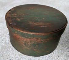 Original Green Painted Pantry Box Antique AAFA ca 1880 Pennsylvania