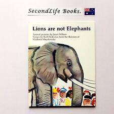 LIONS ARE NOT ELEPHANTS ~ Jozef Wilkon & Karl Dedecius (1975). Vintage.