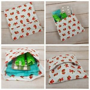 Sanitary Pad Pouch Tablets Purse Discreet Tampon Pouch Cover Holder Handbag