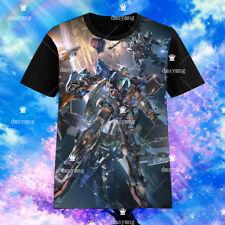 Anime Gundam 00 EXIA T-shirt Short Sleeve Unisex Otaku TEE Cosplay S-3XL#AL0323