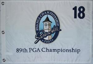 2007 OFFICIAL PGA Championship (Southern Hills) EMBROIDERED Golf FLAG