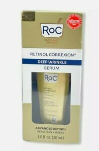 RoC Retinol Correxion Deep Wrinkle Serum 1.0fl.oz./30ml New/Sealed EXP 03/22