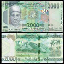 Guinea 2000 Francs, 2018(2019), P-NEW, UNC
