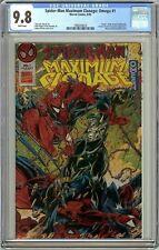 Spider-Man Maximum Clonage Omega #1 CGC 9.8 White Pages 1992078010