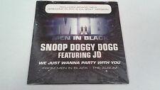 "SNOOP DOGGY DOGG & JD ""WE JUST WANNA PARTY WITH YOU"" CD SINGLE 2 TRACKS"