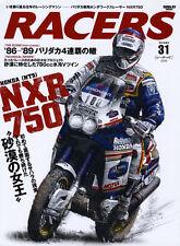 [BOOK] RACERS 31 Honda NXR750 NT5 XR500R Rothmans HRC EXP-2 Cyril Neveu Rally