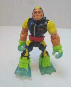 Rescue Heroes 2002 Mattel Fisher Price Scuba Diver