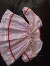 Vtg Roget Ltd Toddler Dress Made In Usa 2T