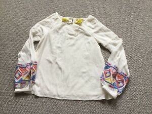 New Without Tags Aztec Blouse By fatface Age 9-10 Years