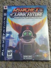 Demo Disc Ratchet & Clank Future: Tools of Destruction  (Sony ps3) New unopened