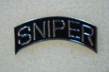 US USA Vietnam Veteran Sniper Military Hat Lapel Pin
