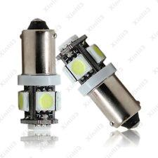 2x 12V White T11 BA9S T4W H6W 363 5 LED 5050 SMD Car Wedge Side Light Lamp Bulb
