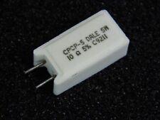 résistance de puissance cémentée 5% 10 Ohms / 10R 5 Watts - ciment 5W  (Lot x 5)