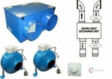 125mm Stanza Singola Kit di recupero di calore con Controller Remoto Estrattore carenatura del ventilatore