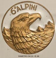 Alpini 6° distintivo di reparto Esercito Italiano produttore anonimo