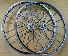 Fulcrum Racing Zero Road Bike Wheels 700c Pair Wheelset 2:1 Carbon Hubs 11 Speed