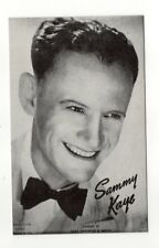 Sammy Kaye 1940's-50's Mutoscope Music Corp of America Arcade Card Postcard