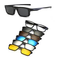 Men sport myopia Glasses Eyeglass Frame + connection 5pcs sunglasses lens
