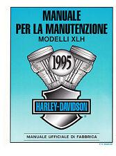 Manuale d'officina per Harley Davidson Sportster 1995.