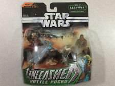 STAR WARS UNLEASHED BATTLE PACKS BATTLE OF KASJYYYK & FELUCIA WARRIORS