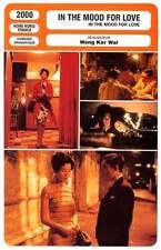 FICHE CINEMA : IN THE MOOD FOR LOVE - Leung,Cheung,Wong Kar Wai 2000