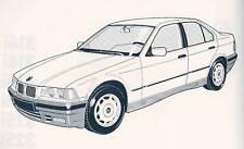 LIBRETTO USO MANUTENZIONE BMW 316i 318i/is 320i 325i/td