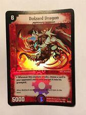 Bolzard Dragon Duel Masters DM02 Very Rare card FOIL TCG CCG