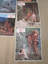 DER WEISSE SOHN DES GORILLAS Aushangfotos Lobbycards 1977 René Cardona Jr. RARE!