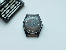 Rare Collectible USSR Watch POLJOT SEKONDA DE LUXE 30j black dial SERVICED