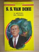 Il mistero del dragoVan DineMondadori1994 classici giallo 643 Vance 212 nuovo
