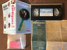 THE CARDIGANS Life The True Story JAPAN NTSC VHS POVV-1718 PROMO STICKER Kahimi