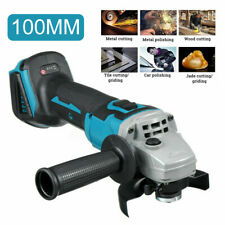 800W Sans fil Brushless Meuleuse d'angle 100mm Pr 18V Makita Li-Ion Batterie