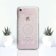 Flor Mandala case Iphone X Funda De Silicona Iphone 7 6s Plus 4s 5s XS XR Xs Max
